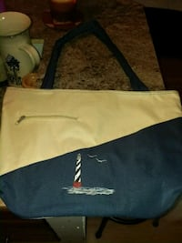 New Lighthouse Tote  Brick, 08724