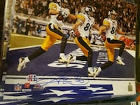 Hines Ward, Pittsburgh Steelers Autograph Coal Center, 15423