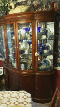 China Cabinet w/ Mirrored Back & Touch Lighting Nashville, 37211