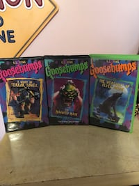 Goosebumps VHS movies Amissville, 20106
