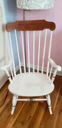 white wooden windsor rocking chair Lake Ridge, 22192