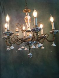 Rose  porcilin vintage  chandelier Lawrenceville, 30045