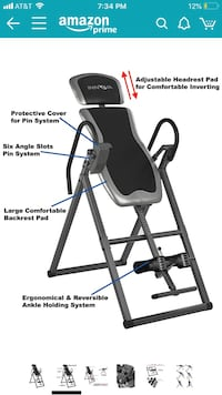 Innova ITX9600 Heavy Duty Inversion Table with Adjustable Headrest & Protective Cover Plantation, 33322
