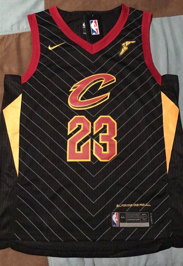watch a9355 15bf5 Brand new nike cleveland cavaliers lebron james statement jersey (men's  small)