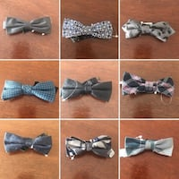 RW Mens Bow Ties Available Lots to Choose From Brand New  Approximately 5 inches wide.  Lots of them to choose from.  $10 Each or 3 for $20   VIEW MY OTHER ADS!!!  Toronto