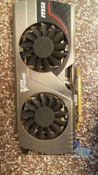 Can't deliver__N570 gtx msi twin frozr III 1.28gb  Irving, 75062
