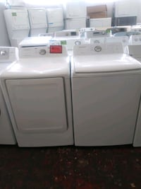 Samsung top load washer & new dryer set working pe Baltimore, 21223