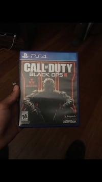 Call of duty black ops 3 ps4 game case Perris, 92570