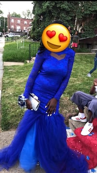 Prom dress for sale;Good condition only Worn once  Baltimore, 21229