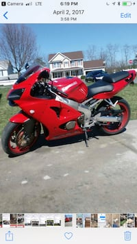 Red and black sports bike zx6r Winchester, 22601