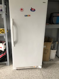 White single-door refrigerator Essa, L0L