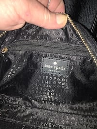 Kate Spade black small/med purse