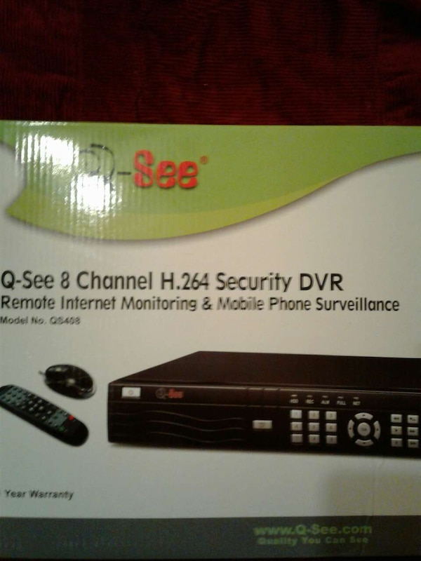 q-see 8 channel security dvr