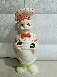 French Chef Kitchen Utensil Holder-Vintage 1980's Foley