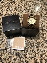 Michael Kors Golden Runway Watch with Glitz MK5166 Mississauga, L4Z 1B2