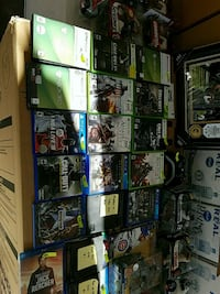 DVDs Blurays and Video games, must sell today!
