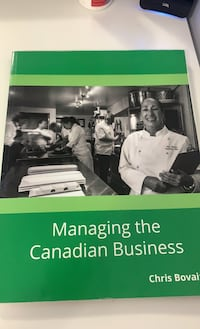 Managing the canadian business textbook