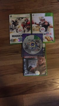 lot of 4 xbox 360 sports games  all CIB besides madden 13 Centereach, 11720