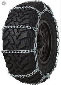 Lot of (2) 3210 wide base tire chain  Manchaca, 78652