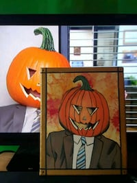 The office painting