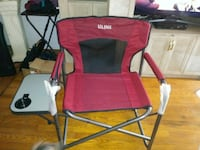 NEW red and black camping chair North Arlington, 07031