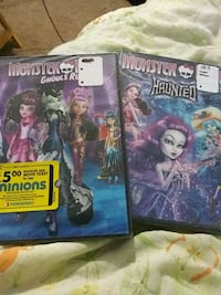 Monster High- Ghouls Rule and Haunted Summerville, 29485
