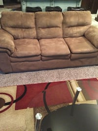 Microfiber Couch and Loveseat Oklahoma City, 73099