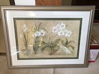 """Large framed Orchid picture 40""""x30"""" Alhambra, 91803"""