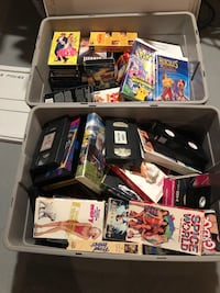 VCR movies assorted - around 75 movies (children and adult)  Mississauga, L5B