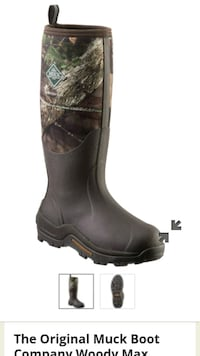 Hunting boots Woody Max  Memphis, 38104
