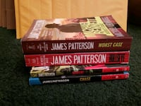 James Patterson mass market books