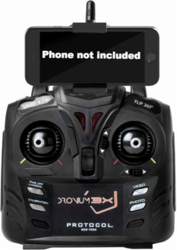 Protocol Dronium 3X Drone with Live Streaming Video