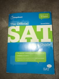 SAT Prep Book Franklin, 02038