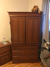 brown wooden cabinet with drawer Montréal, H1Z
