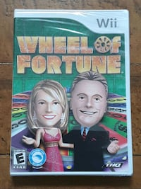 NEW Wii Wheel of Fortune Game Martinsburg, WV, USA, 25401