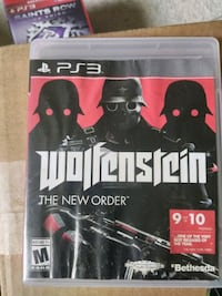 Sony PS3 Wolfenstein game Alexandria, 22312