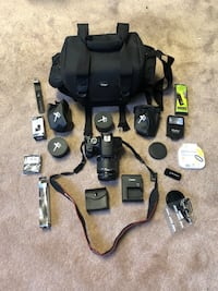 Canon t6 bundle. Great condition. Springfield, 22153