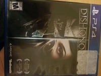 Dishonored 2 psp4 game