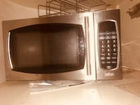 black and gray microwave oven Surrey