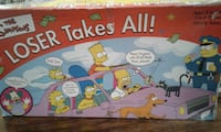"""THE SIMPSONS """"LOSER TAKES ALL"""" GAME(GUC)$5 Surrey, V3W"""