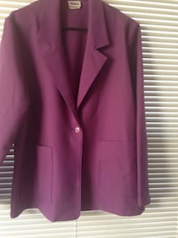 Great Purple jacket by Shirley size 16 Ooltewah, 37363