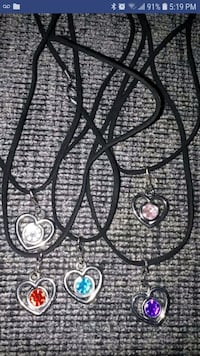 Heart Necklaces.price is Each