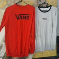 Vans men's or woman long sleeve shirts BRAND NEW $ Goose Creek
