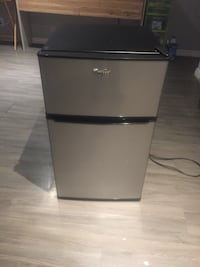 black and gray top-mount refrigerator Pickering, L1W 1T1