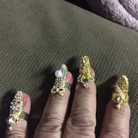 gold and silver hand finger accessories Eatontown, 07724