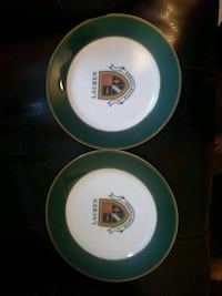 Two Ralph Lauren Knockhill Crest Plates Manchester, 03104