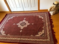 Beautiful Red Floor Rug 5'7 Middle Island, 11953