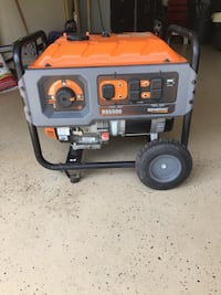 Generac Rapid Start RS 5500 Runnig Watts portable generator,  Like New only 50 hours . Long Pond, 18334