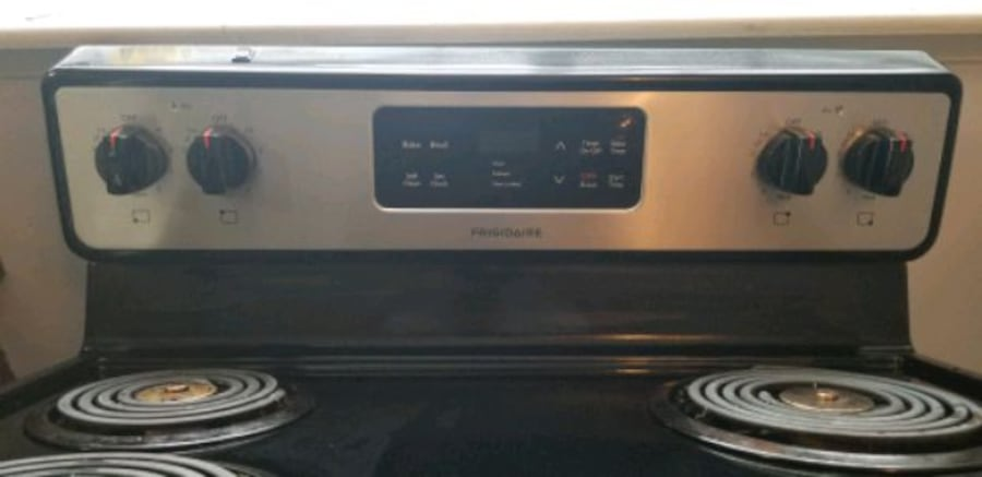 "Frigidaire 30"" Stainless Steel Electric coil Burner range Stove.  5"