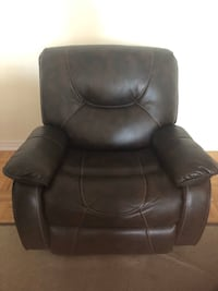 Leather reclining chair - brand new